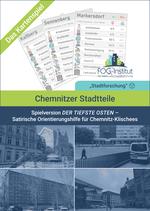 """Satirisches Kartenspiel """"Chemnitzer Stadtteile - Spielversion DER TIEFSTE OSTEN"""""""