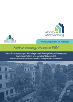 Mietwohnungs-Monitor 2016 - Band 2