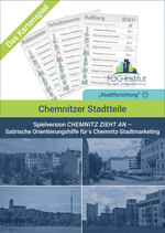 """Satirisches Kartenspiel """"Chemnitzer Stadtteile - Version CHEMNITZ ZIEHT AN"""""""