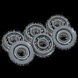 Boccole in acciaio da 8 mm cuscinettate aperte (B8CA)