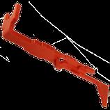 FPS Asta spingipallino di seconda versione in tecnopolimero caricato (ASV2)