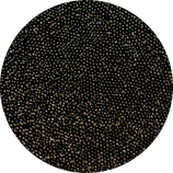 Glass Beads Mini Black Veil - Mini Glasperlen