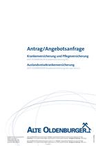 Antrag KV/PV/AKV