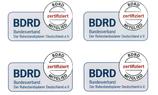 "Aufkleber ""BDRD"" groß"