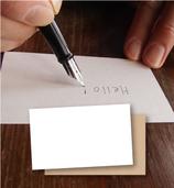 手書き名刺用竹紙100枚セット