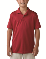 adidas Jungen Performance Polo, Rot