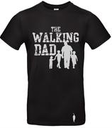 t-shirt Walking dad, 3 garçons