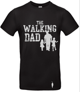 t-shirt Walking dad, 2 filles