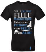 "t-shirt ""alibi"" 1 fille"