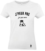 t-shirt J'AI PAS ENVIE - femme