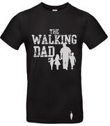 t-shirt Walking dad, 1 garçon + 2 filles