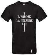 t-shirt L'homme, la légende