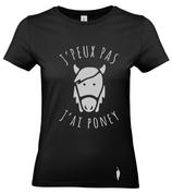 t-shirt PONEY - femme