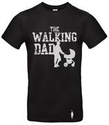t-shirt Walking dad, poussette