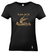t-shirt QUIDDITCH vif d'or - femme