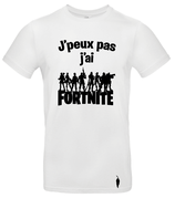 t-shirt Fortnite players - blanc