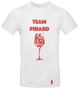 t-shirt TEAM PINARD - blanc