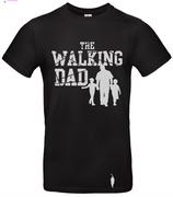 t-shirt Walking dad, 2 garçons