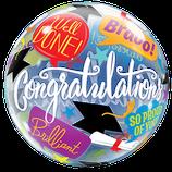 Bubble congratulation Bravo
