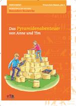 """Antwortbuch aus der Serie Besondere Bauwerke """"Das Pyramidenabenteuer von Anne und Tim"""""""