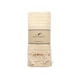 solimero beach towel VIVA yellow