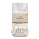 solimero beach towel CARA light grey