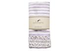 solimero beach towel VIVA lilac