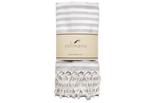 solimero beach towel VIVA grey