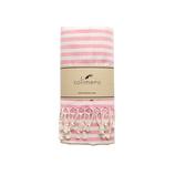 solimero beach towel VIVA pink