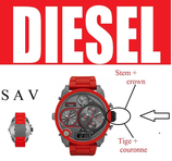 Tige + couronne Diesel