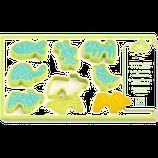 6 MOLDES PARA PLASTILINA ANIMALES DOMÉSTICOS