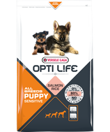 4)-OPTI LIFE PUPPY SENSITIVE ALL BREEDS
