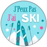 Porte clé j'ai Ski