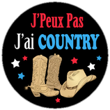 Porte clé j'ai Country