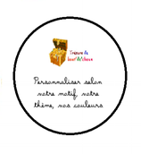 Badge Epingle EVJF A PERSONNALISER 37 mm