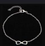 Bracelet de cheville noeud de l'infini