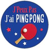 Porte clé j'ai Ping Pong