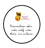 Badge Invité A PERSONNALISER taille 58 mm