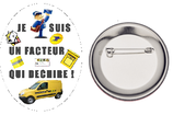 Badge Facteur qui déchire