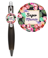 Stylo floral Super Mamie