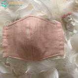 天使のぽっけ 立体型マスク ピンク