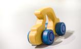 Auto in gelb