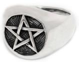 Ring Pentagramm - r20