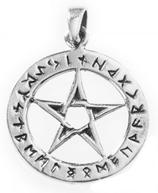 Pentagramm mit Runen - am72