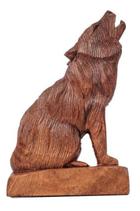 sitzender Wolf - hk1
