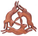 Keltische Hasen - ws258