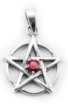 Pentagramm mit Stein - am155