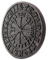 Vegvisir mit Runen - ws277-2