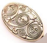 Keltische Bronzefibel - fb67