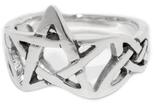 Ring Pentagramm - r18